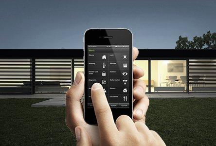 knx en gira homeserver meer comfort door intelligente. Black Bedroom Furniture Sets. Home Design Ideas