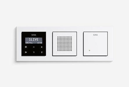 gira inbouwradio rds. Black Bedroom Furniture Sets. Home Design Ideas